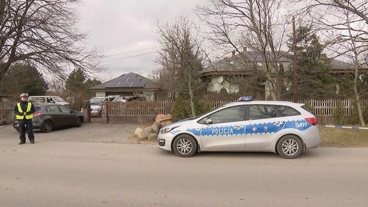 Miejsce, gdzie doszło do zabójstwa rodziny C. /Polsat News