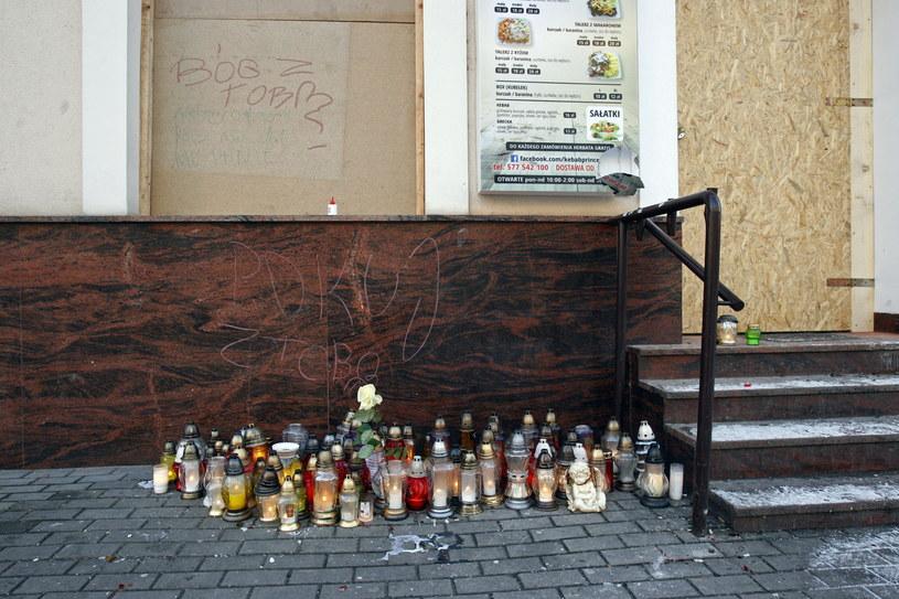 Miejsce, gdzie doszło do zabójstwa /Artur Reszko /PAP