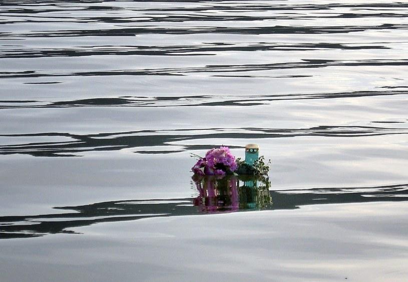 Miejsce, gdzie utonęła 21-letnia dziewczyna, Mazury 2007 r. /UDWIK SIENKIEWICZ/REPORTER /East News