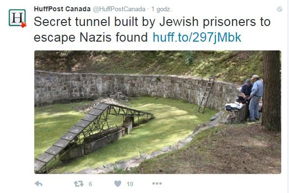 Miejsce, gdzie znajduje się tunel /Twitter