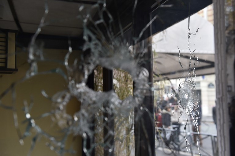 Miejsce jednego z ataków /AFP