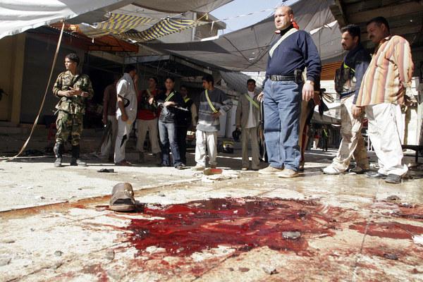 Miejsce jednego z zamachów /AFP