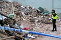 Miejsce katastrofy budowlanej w Świebodzicach