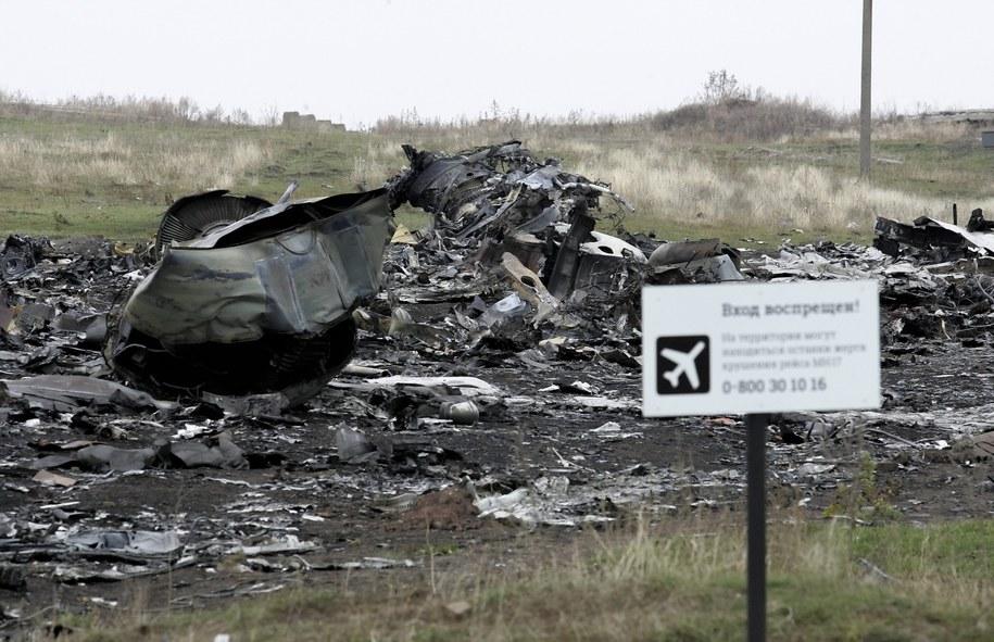 Miejsce katastrofy malezyjskiego samolotu /ALEXANDER ERMOCHENKO /PAP/EPA