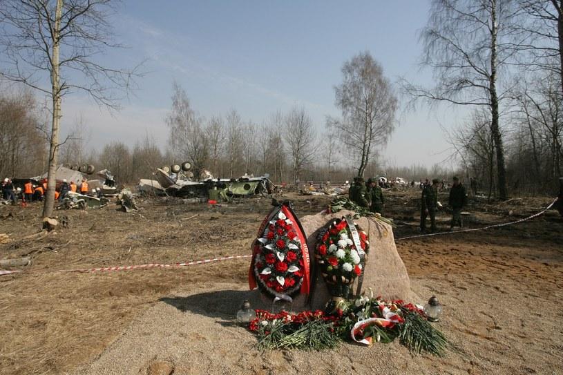 Miejsce katastrofy prezydenckiego samolotu w Smoleńsku; Zdj. ilustracyjne /Stefan Maszewski /Reporter