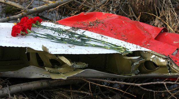 Miejsce katastrofy prezydenckiego samolotu w Smoleńsku /AFP
