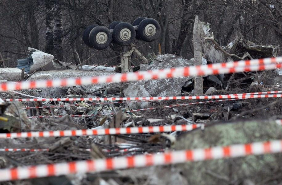 Miejsce katastrofy prezydenckiego Tu-154 /SERGEI CHIRIKOV /PAP/EPA