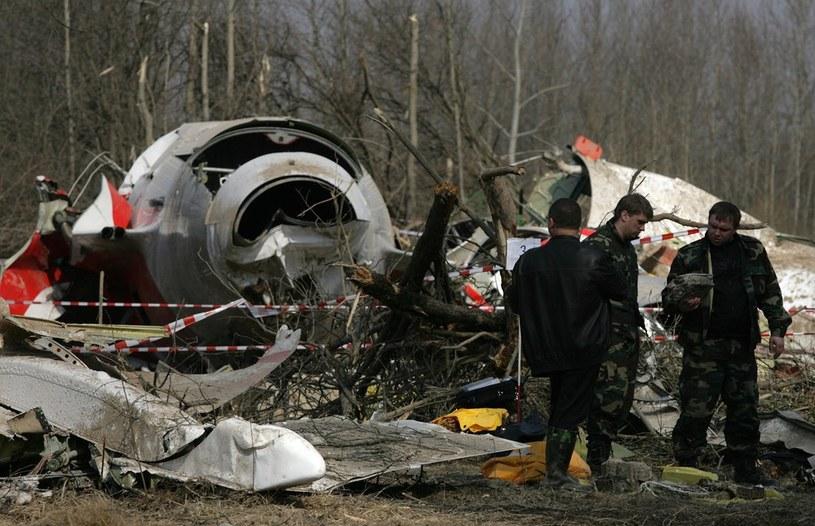 Miejsce katastrofy samolotu prezydenckiego, zdj. z 11.04.2010 /STEFAN MASZEWSKI/REPORTER /East News