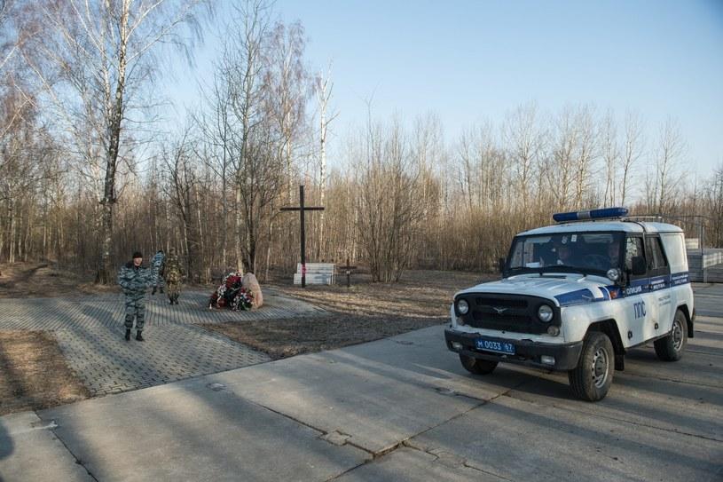 Miejsce katastrofy samolotu Tu-154M w Smoleńsku /PAP/EPA