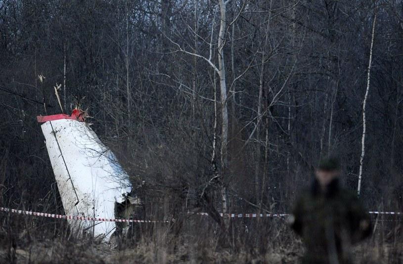 Miejsce katastrofy smoleńskiej /AFP
