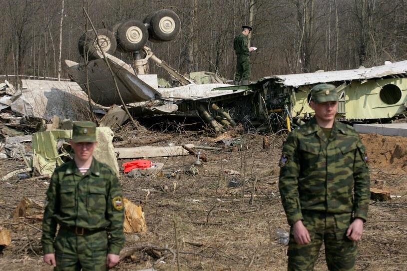 Miejsce katastrofy Tu-154M /Stefan Maszewski /East News