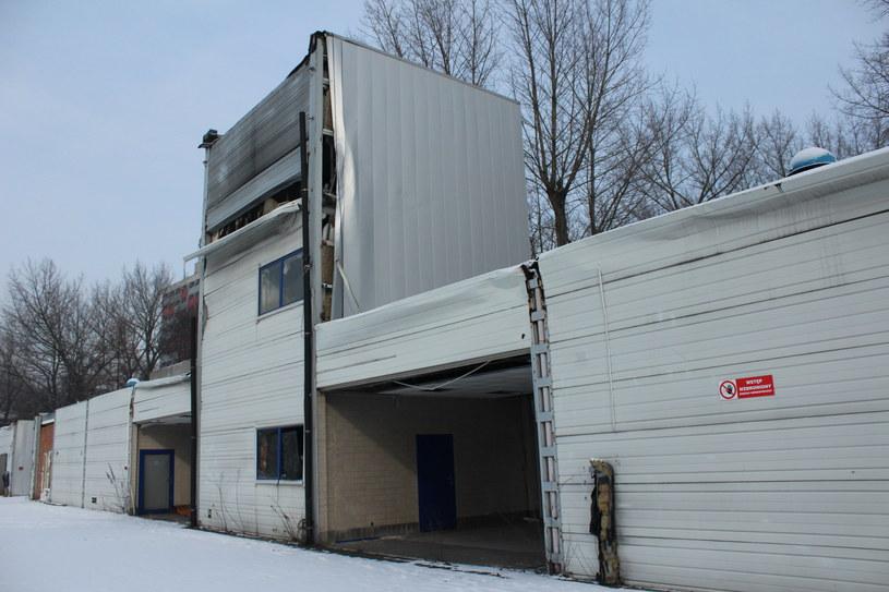 Miejsce katastrofy w Katowicach /Anna Daraż /INTERIA.PL