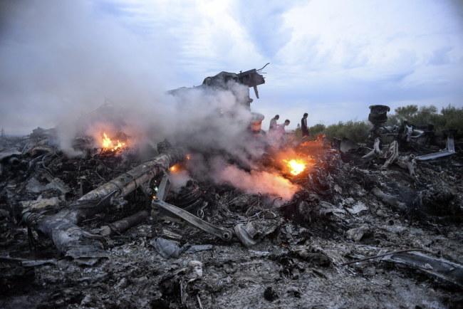 Miejsce katastrofy /ALYONA ZYKINA /PAP/EPA