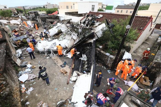 Miejsce katastrofy /STRINGER /PAP/EPA