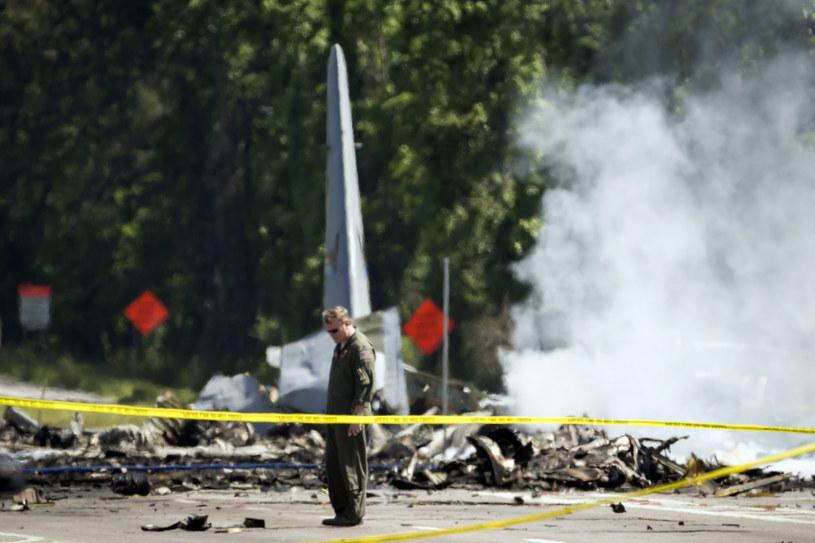 Miejsce katastrofy /STEPHEN B. MORTON /PAP/EPA