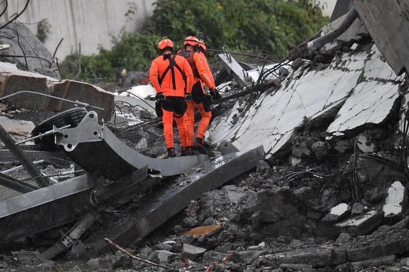 Miejsce katastrofy /LUCA ZENNARO /PAP/EPA