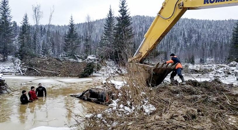 Miejsce katastrofy /Russian Emergencies Ministry  /PAP/EPA