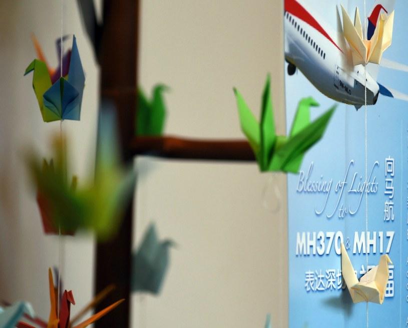 Miejsce pamięci ofiar zaginionego samolotu w Kuala Lumpur /AFP