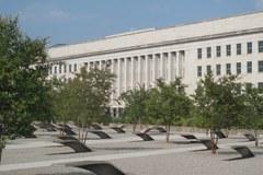 Miejsce pamięci przed Pentagonem w Waszyngtonie.