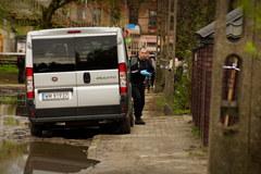 Miejsce rodzinnej tragedii w Wołominie