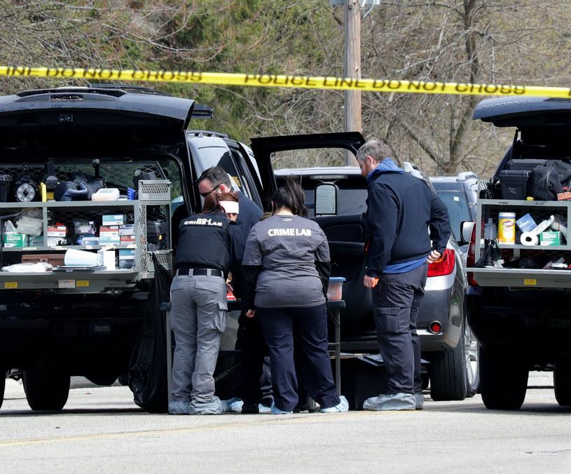 Miejsce strzelaniny w graniczącej z Milwaukee miejscowości Kenosha. W kwietniu zginęły tam trzy osoby /USA TODAY Network/Sipa USA /East News