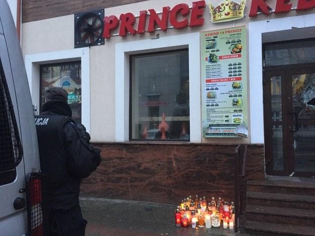 Miejsce tragedii w Ełku /Piotr Bułakowski /RMF FM