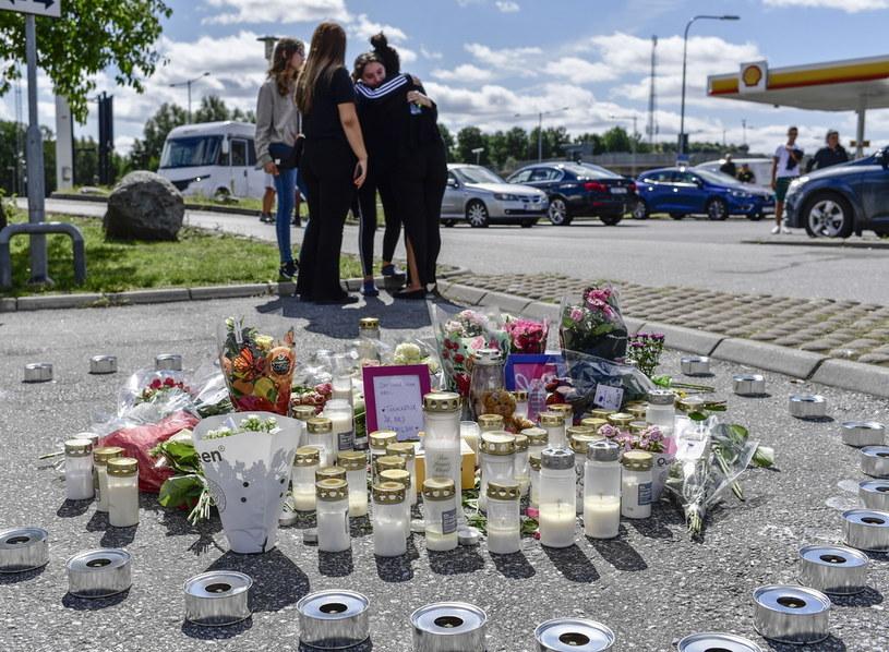 Miejsce tragedii /STINA STJERNKVIST /PAP/EPA