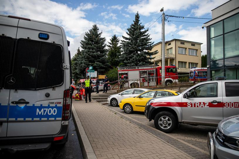 Miejsce tragedii /Wojciech Wojtkielewicz/Polska Press /East News