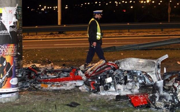 Miejsce tragicznego wypadku /PAP