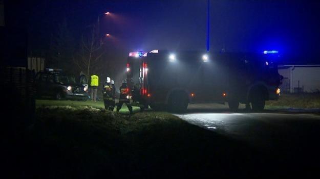 Miejsce tragicznego wypadku /TVN24/x-news
