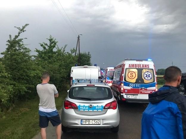 Miejsce tragicznego wypadku /Mateusz Czmiel /RMF FM