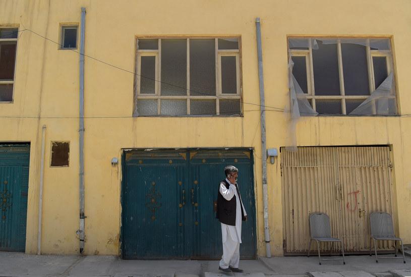Miejsce, w którym doszło do ataku /AFP