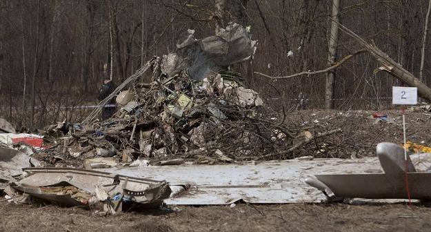 Miejsce, w którym doszło do katastrofy smoleńskiej /S. Maszewski /Reporter