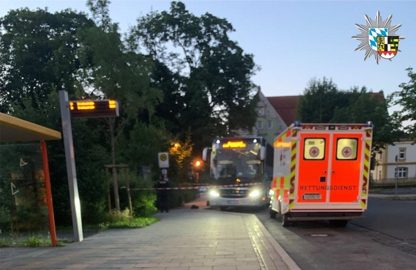 Miejsce, w którym doszło do tragedii /Polizei Oberfranken /facebook.com