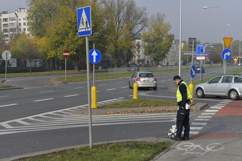 Miejsce, w którym doszło do wypadku /MAREK KUDELSKI/AGENCJA SE /East News