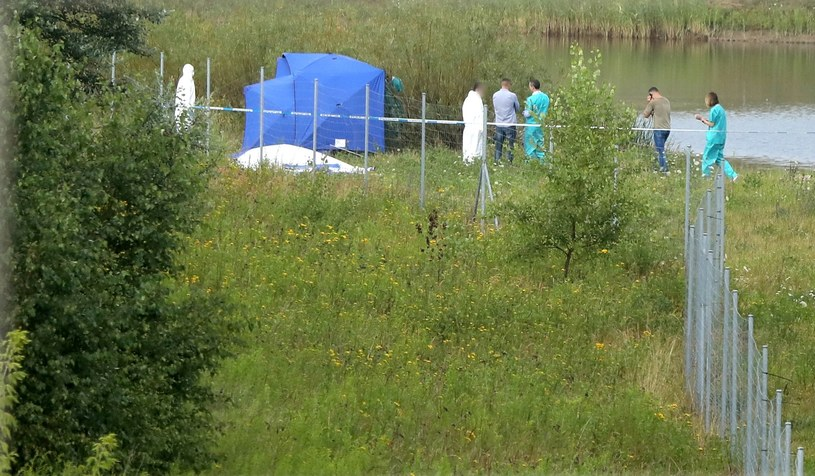Miejsce, w którym odnaleziono ciało chłopca /Piotr Molecki /East News