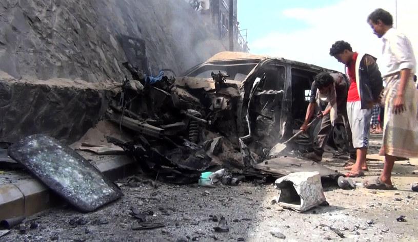 Miejsce wybuchu /AFP