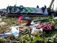 Miejsce wypadku na Węgrzech /arch.EPA