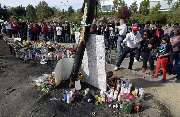 Miejsce wypadku Paula Walkera /PAP/EPA