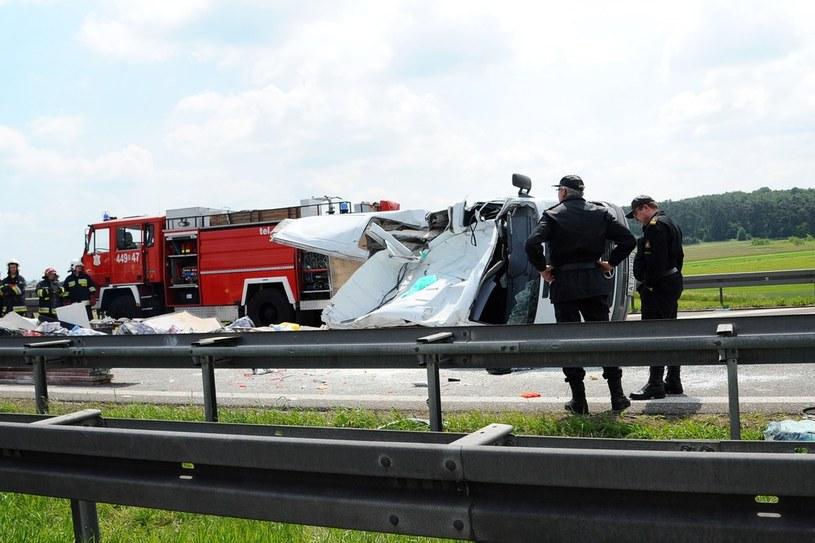 Miejsce wypadku /Mateusz Jagielski /East News