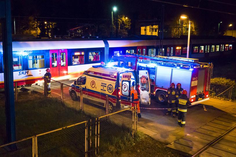 Miejsce wypadku /Radek Jaworski /Agencja FORUM