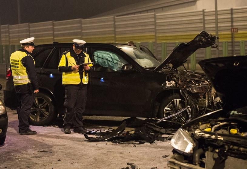 Miejsce wypadku /PAWEL SKRABA/REPORTER /East News