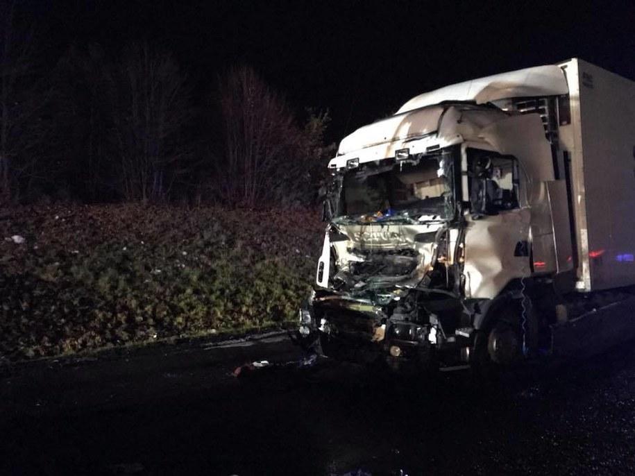 Miejsce wypadku /Pomoc Drogowa Wal-Car Ratownictwo Drogowe /Facebook