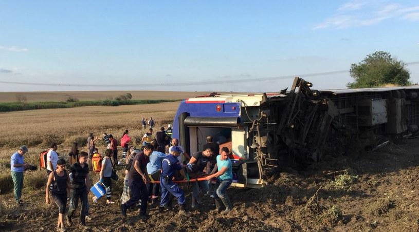 Miejsce wypadku /MEHMET YIRUN /PAP/EPA