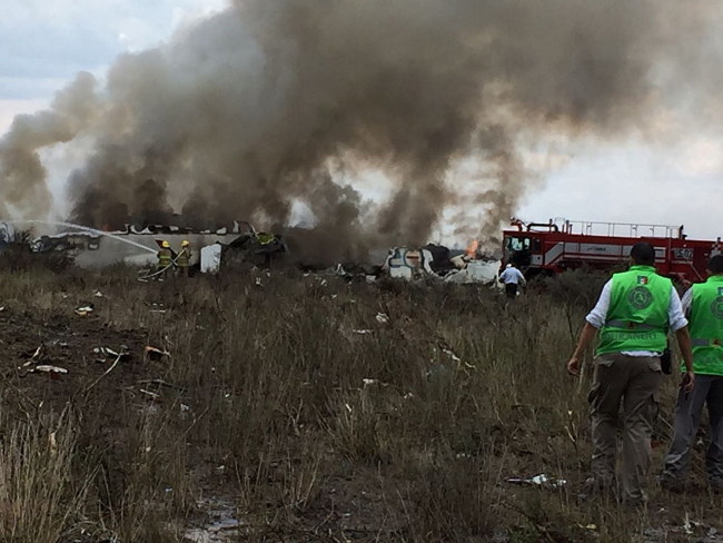 Miejsce wypadku /Civil Protection State Coordination (CPCE) /PAP/EPA