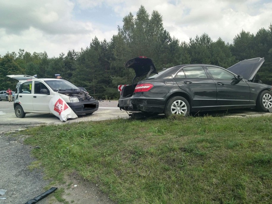 Miejsce wypadku /Zdjęcie udostępnione /
