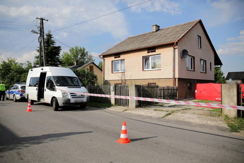 Miejsce zabójstwa w Dzierzgowie /Roman Zawistowski /PAP