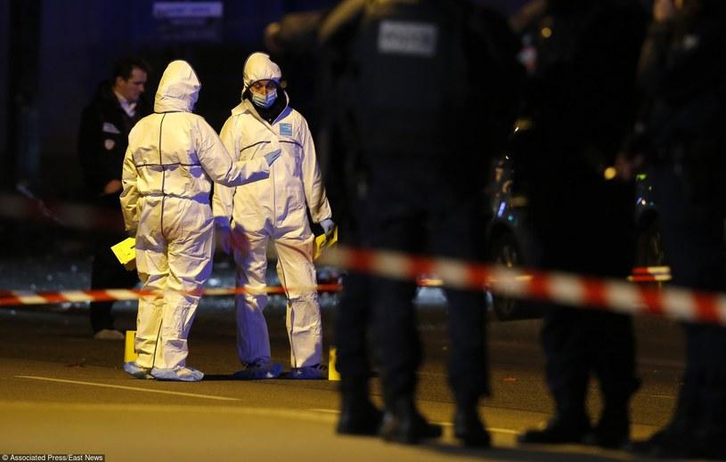 Miejsce zamachów w Paryżu /AP  FOTOLINK /East News
