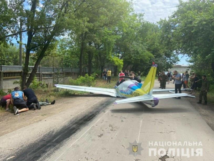 Miejsce zdarzenia, źródło: ukraińska policja /Policja