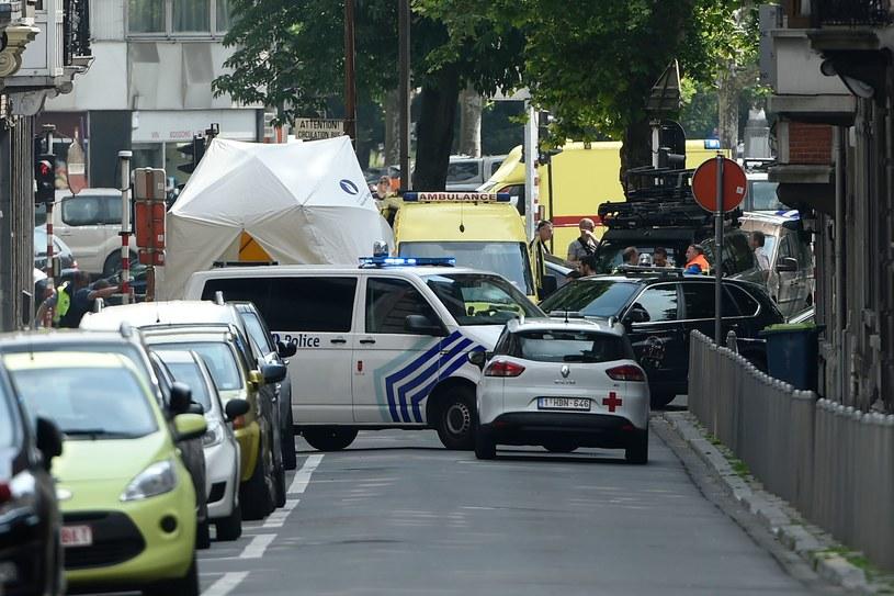 Miejsce zdarzenia /AFP
